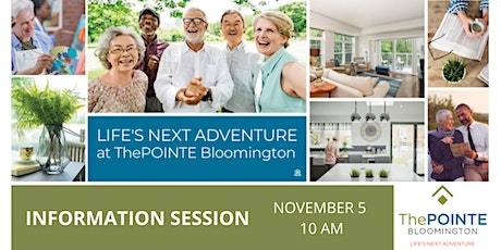 ThePOINTE Bloomington Info Session 10AM tickets