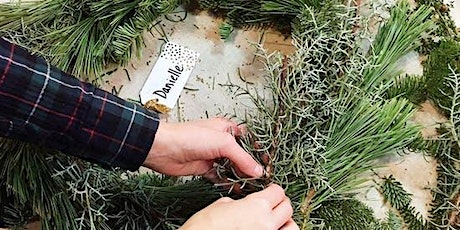 DIY Holiday Wreath Making tickets