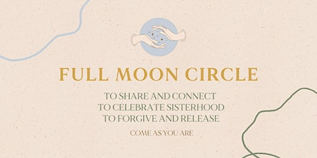FULL MOON CIRCLE - OCTOBER 31 Tickets