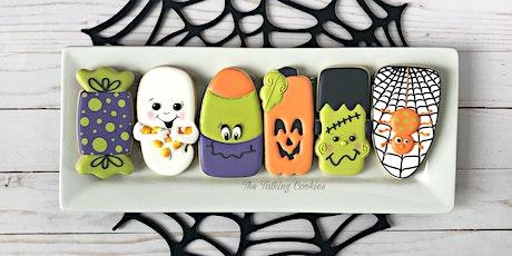 Happy Halloween Beginner Cookie Decorating Class tickets