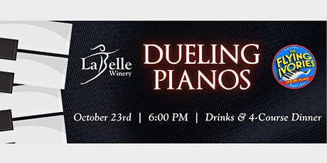 Dueling Pianos Dinner Show with The Flying Ivories - 2nd Night tickets