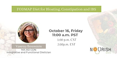 FODMAP DIET FOR BLOATING, CONSTIPATION and IBS