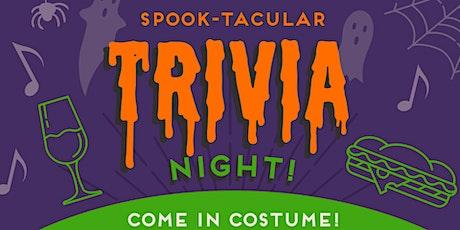 Spook-tacular Trivia Night in River Mill Park tickets