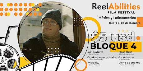 Reelabilities MX: Festival de Cine y Discapacidad 2020 (Bloque 4) boletos