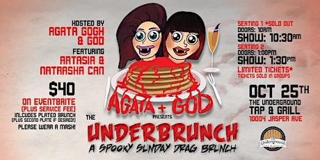 The Under-Brunch: A Spooky Sunday Drag Brunch (1PM Seating) tickets