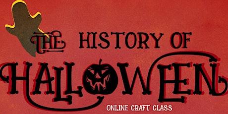 The History of Halloween biglietti