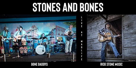 Stones and Bones - 2 Band Night - Bone Daddys & Rick Stone Music tickets