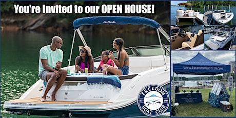 Open House at Freedom Boat Club Virginia: Woodbridge Location tickets