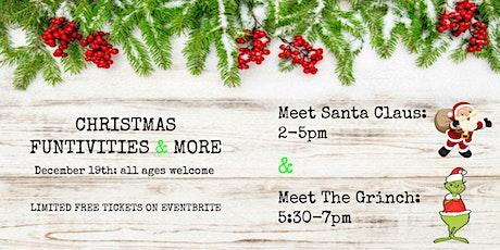 Santa Claus meet & greet tickets