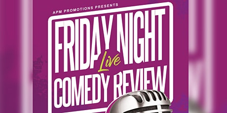 FRIDAY NIGHTS  LIVE COMEDY REVIEW AT LUXOR LOUNGE tickets