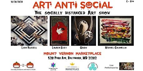 "Art ""Anti""- Social tickets"