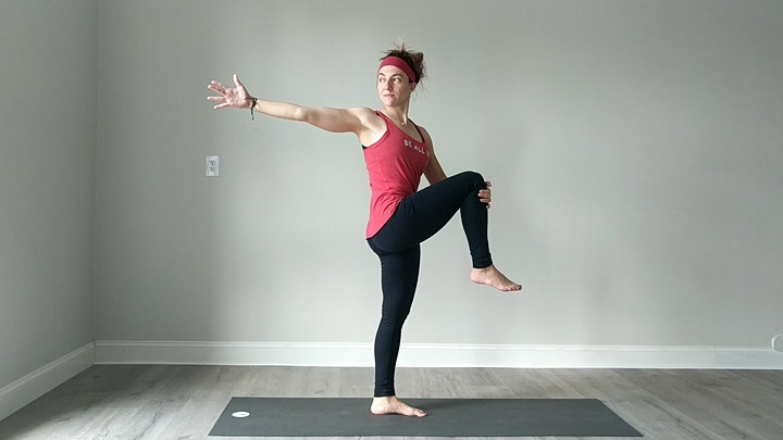 Free Virtual Advanced Online Power Yoga with Brittany — GLA image