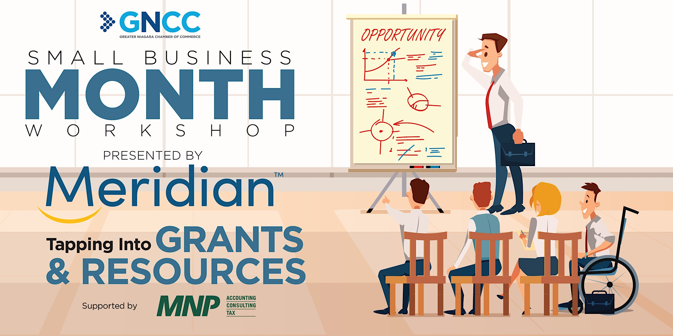 Small Business Month Workshop: Grants + Resources | Presented by Meridian