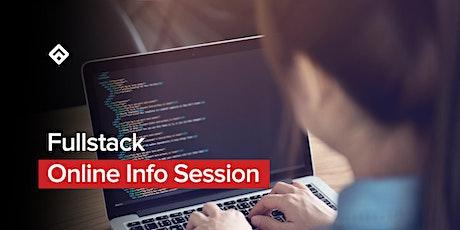Fullstack Online Info Session entradas