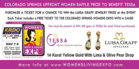 Upfront Women Raffle Ticket to Support TESSA at the CS Women's Expo 2020 tickets