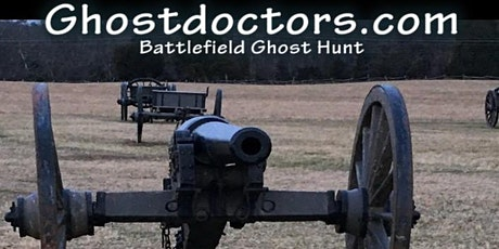 Ghost Doctors Manassas Battlefield Ghost Hunting Tour-Saturday-11/7/20 tickets