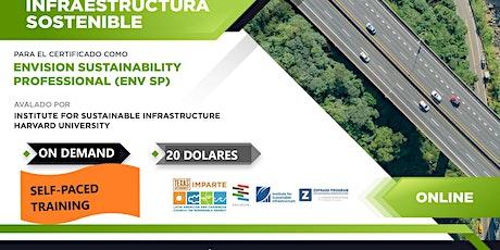 Webinar: Induccion a la innovacion en  Infraestructura Sostenible:ENVISION tickets