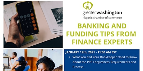 Banking and Funding Tips from Finance Experts Webinar tickets