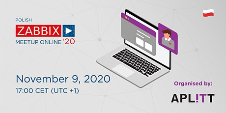 Zabbix Meetup Online in Polish tickets