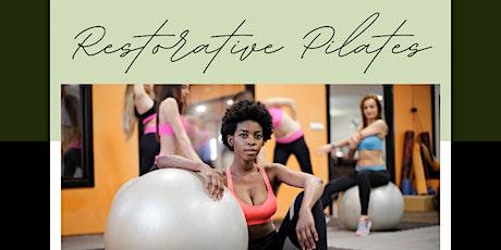 Virtual: Restorative Mat Pilates tickets