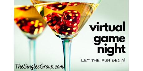 Virtual Singles Game Night tickets