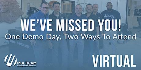 MultiCam  Anaheim - Virtual Demo Day tickets