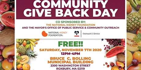 Community Giveback Day tickets