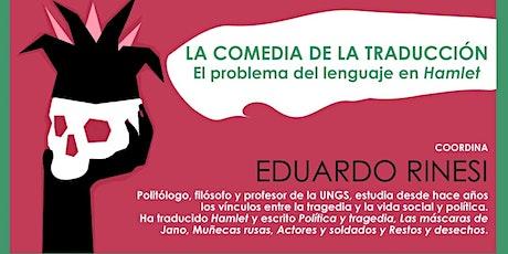 La comedia de la traducción. En problema del lenguaje en Hamlet