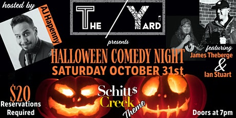 Halloween Comedy Show tickets