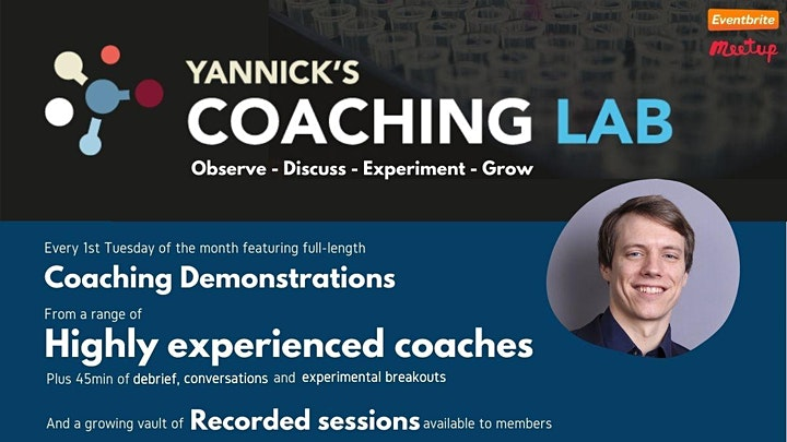 Yannick's Coaching Lab (demo, discussion & practice) with Dr. Joel Vos image