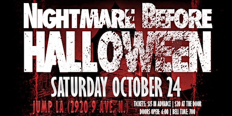 PPW Nightmare Before Halloween tickets