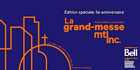 La grand-messe Mtl inc. 2020 billets