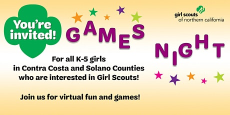 Contra Costa and Solano Counties, CA | Games Night tickets