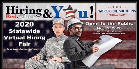 Red, White, and You Virtual Job Fair tickets
