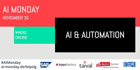 AI Monday - November 30 - AI & AUTOMATION Tickets
