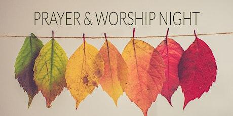 Prayer & Worship Night tickets