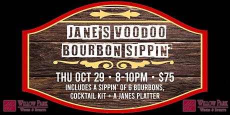 Jane's Voodoo Bourbon Sippin' tickets