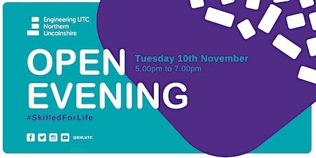 November Open Evening tickets