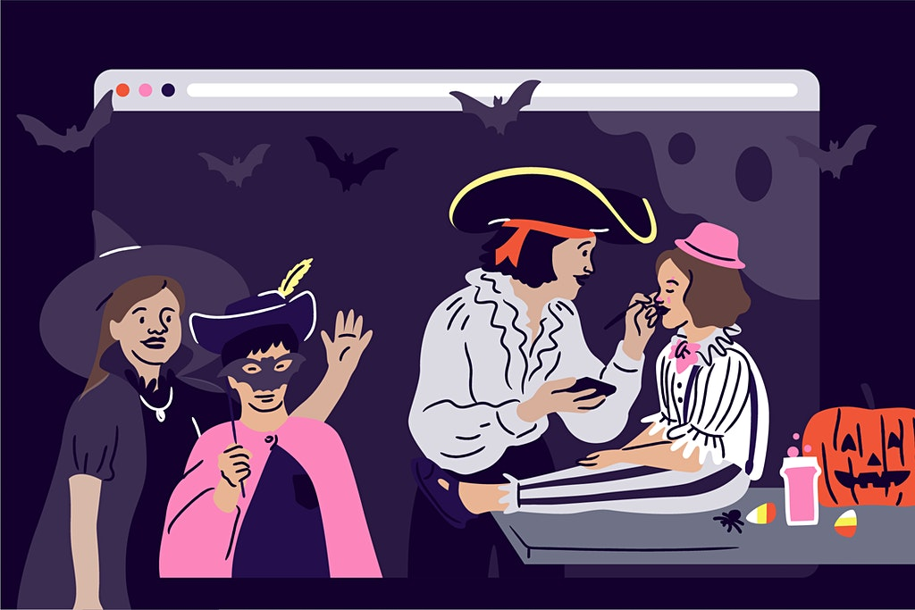 Tricks and Treats: Virtual Halloween Events for All Ages