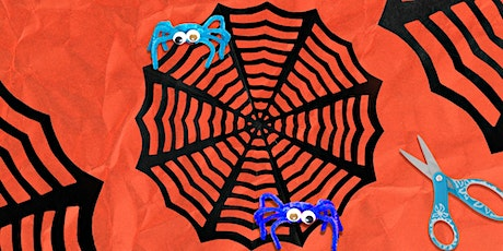 45min Halloween Creepy Crafting - Spiderweb & Spiders @2PM (Ages 5+) tickets