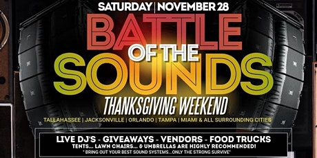 Battle Of The Sounds tickets