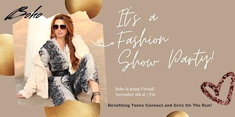 Boho Virtual Fashion Show Fundraiser tickets