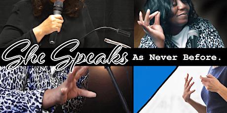 She Speaks Empowerment Workshop tickets