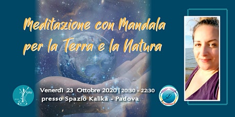 Meditazione con Mandala per la Terra biglietti