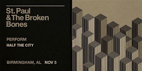 An Evening with St. Paul & the Broken Bones tickets