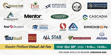 Virtual Job Fair (Greater Portland) tickets
