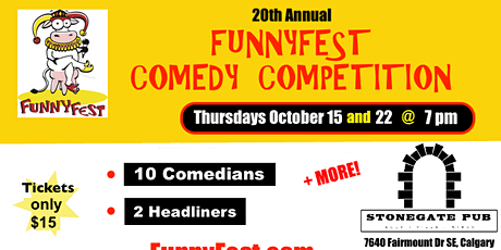 Comedy Competition - 8 Comedians perform at the Stonegate Pub tickets