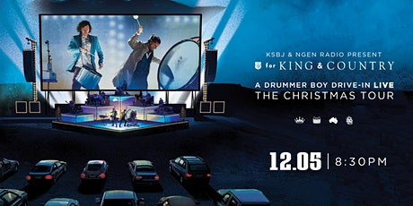 for KING & COUNTRY's A Drummer Boy Drive-In: The Christmas Tour tickets