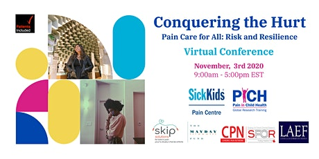 Conquering the Hurt - Pain Care for All: Risk and Resilience tickets