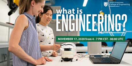 What is Engineering: Learn about first-year engineering at USask tickets